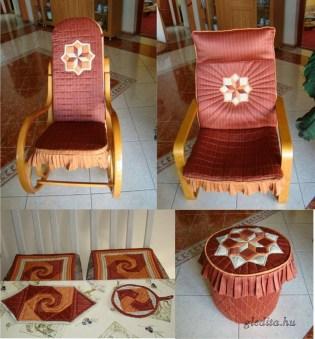 Patchwork lakástextil