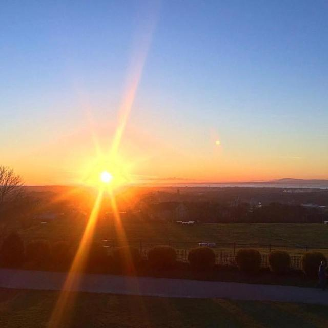 An especially lovely sunset from Williamson Park back when wehellip