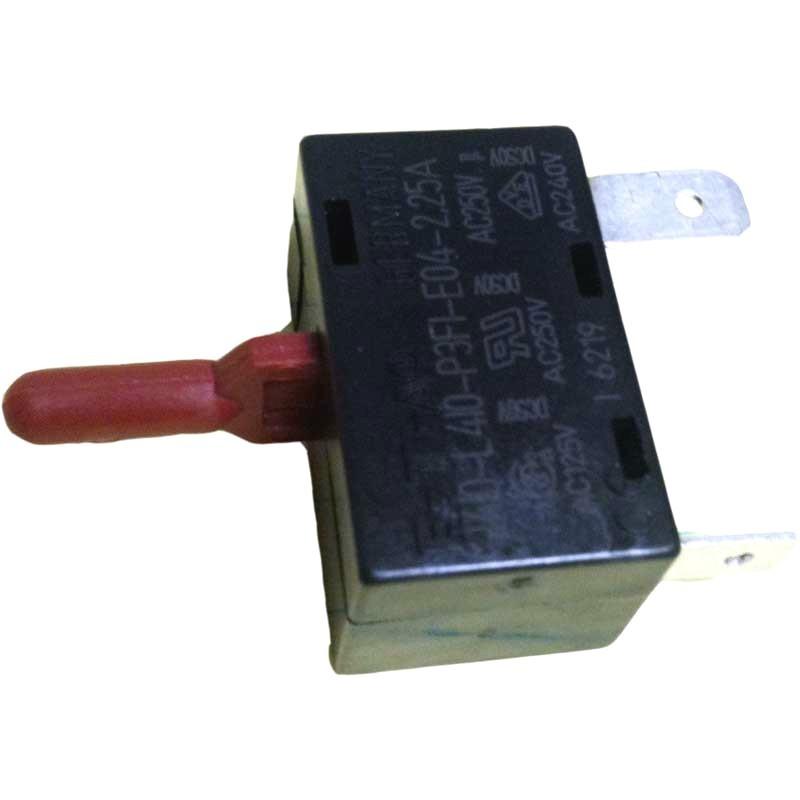 new genuine electrolux vacuum cleaner power nozzle circuit breaker reset switch