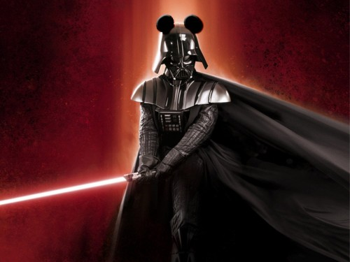 Darth Vader WIth mickey Mouse Ears