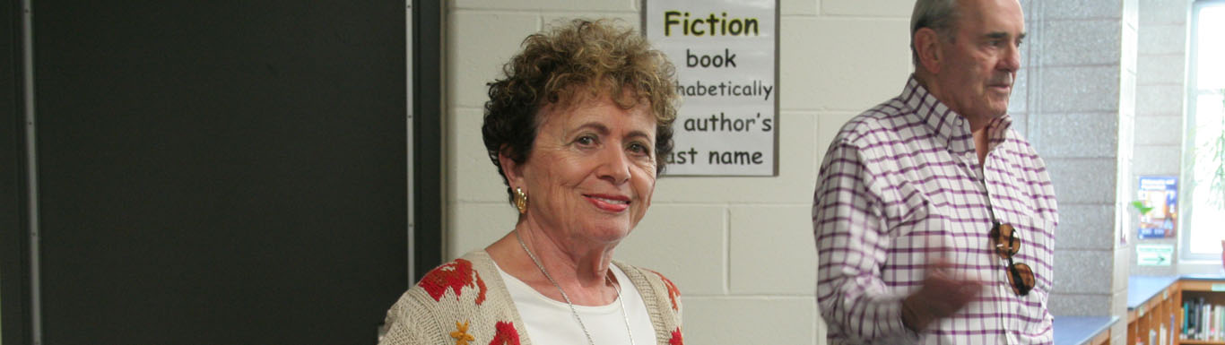 Holocaust survivor Irene Miller shares experiences with GL students