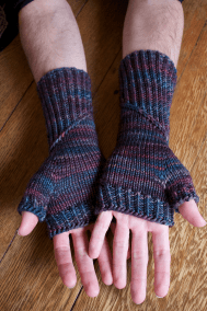 Spiral Staircase Mitts