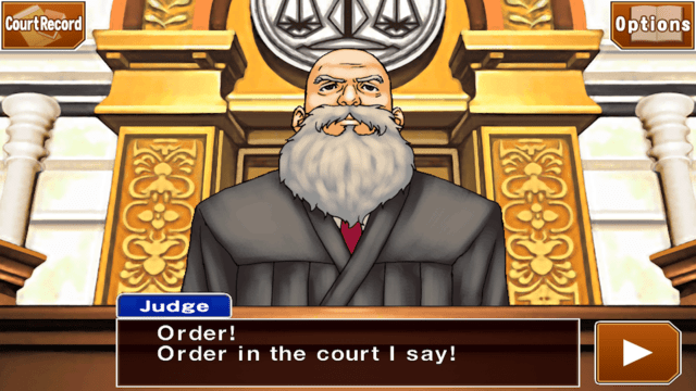 Phoenix Wright HD Judge