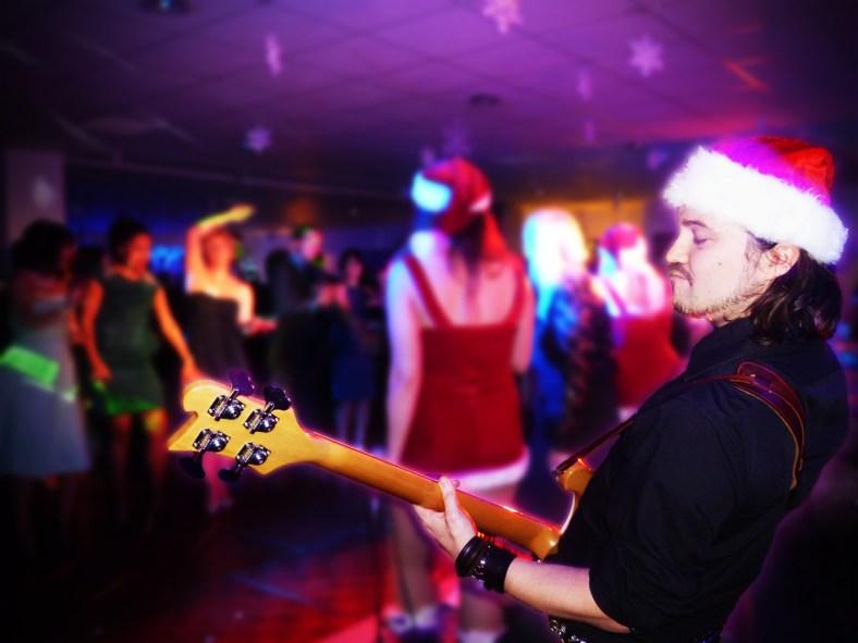 Pop Tease Coverband Goteborg Julbord Christmas