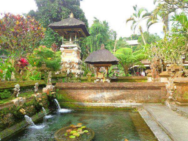 spiriutal bali beautiful Gunung Kawi water temple