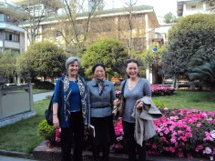 School site visit in Chengdu