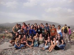 My IHP group at Teotihuacan