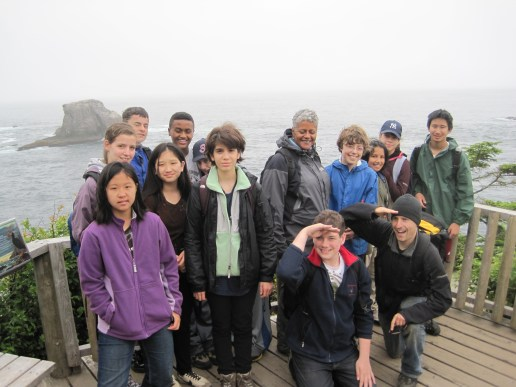 Cape Flattery: at the northwestern tip of the contiguous United States