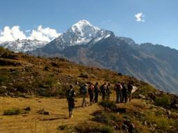 Andean trekking