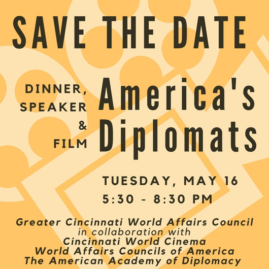 Save the Date - America's Diplomats