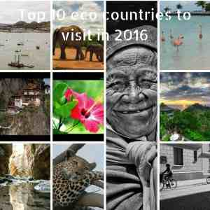 Top 10 eco countries to visit in 2016