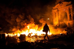 Ukraine: Night of clashes in Kiev