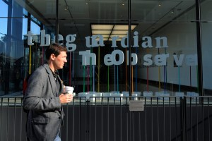 The offices of the Guardian newspaper in London