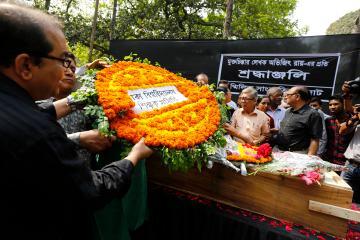 Tribute for blogger Avijit Roy
