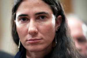 Cuban blogger and journalist Yoani Sánchez is pictured during a visit to Washington in May 2013. (AP/Cliff Owen)