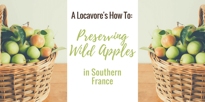 My Adventure Preserving Wild Apples in Southern France