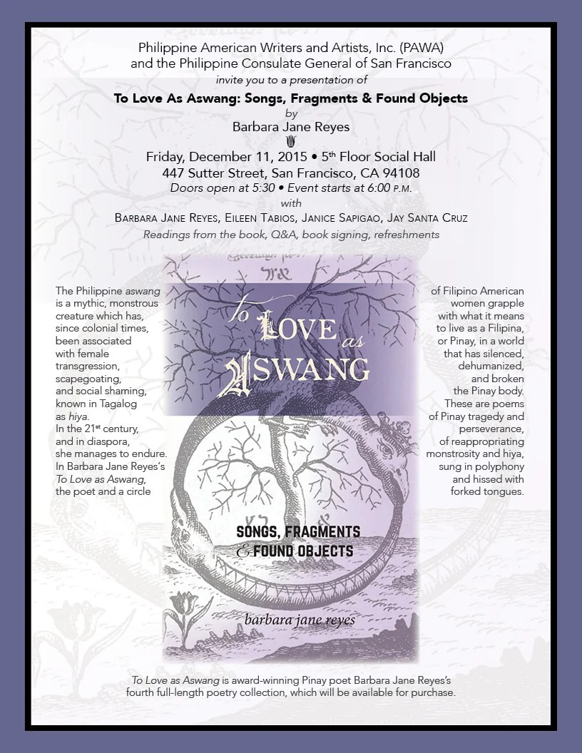 Imposing San Francisco Inquirer Global Philippine Aswang Is A Creature Which Since Colonial Been Associated Withfemale To Love As Poetry Reading Invitation To Event wedding invitation Invitation To Love