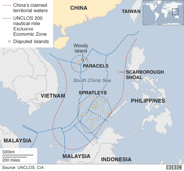China hopes to avoid discussion of the South China Sea at the G20 summit