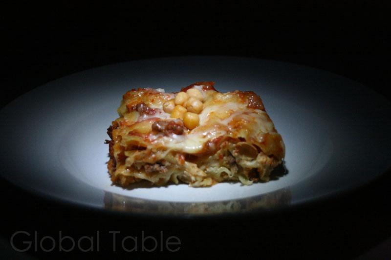 Hot algerian lasagna global table adventure for Algerian cuisine youtube