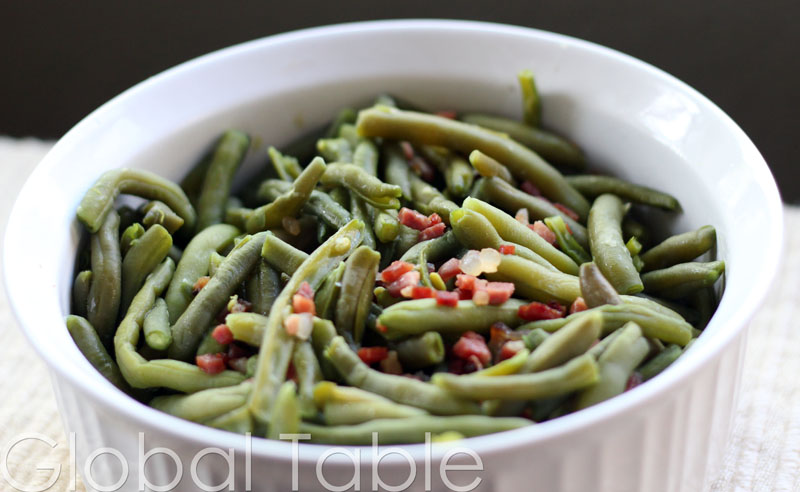 Green beans speck