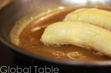 Baby Bananas in Orange Sauce | Global Table Adventure