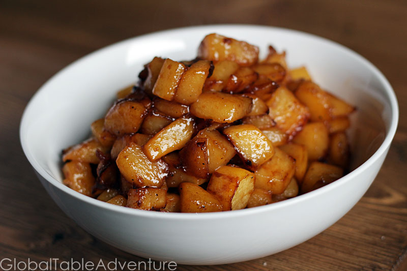Maple-Glazed Rutabaga | Global Table Adventure