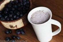 Finnish Blueberry Milk | 22 Campfire & Scandinavian Recipes to celebrate Midsummer's Night