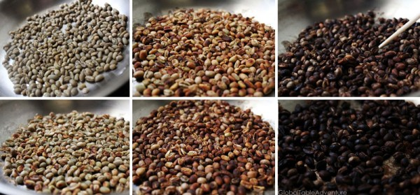 How to roast your own beans for an Ethiopian Coffee Ceremony