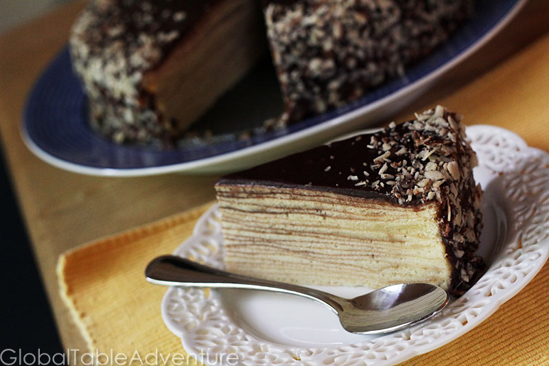 German Tree Cake | Baumtorte / Baumkuchen | Global Table Adventure