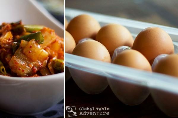 Rolled Egg Omelet w/ Kimchi | Gyeran Mali | Global Table Adventure