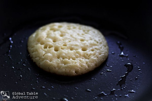 "Moroccan Honey Buttered Semolina ""Crater"" Pancakes (w/ Poll) Recipe..."