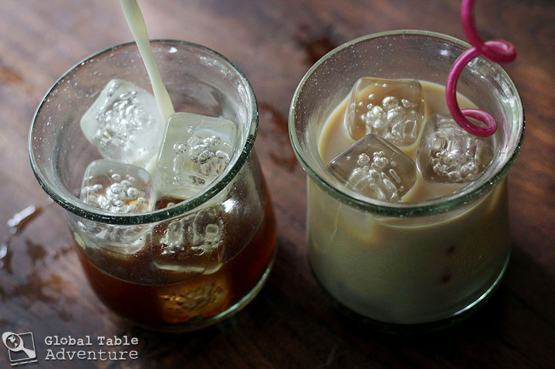 "Nauru's ""Recycled"" Iced Coffee 