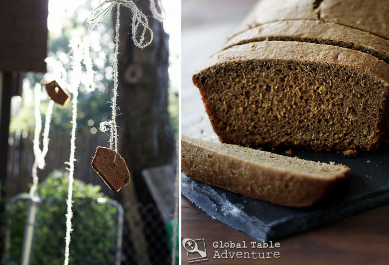 Dutch Spice Cake on a Rope | Ontbijtkoek | Global Table ...