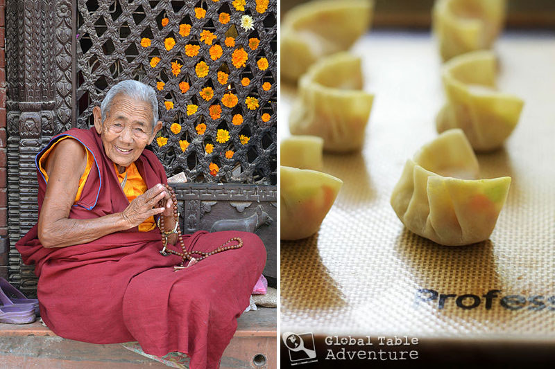Vegetarian Momos | Global Table Adventure