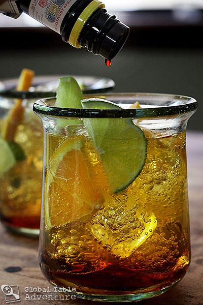 Nigerian Chapman Cocktail | Global Table Adventure