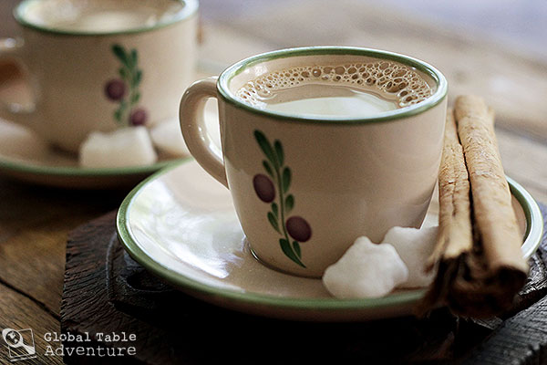 Pakistani Coffee with Cinnamon & Cardamom | Global Table Adventure