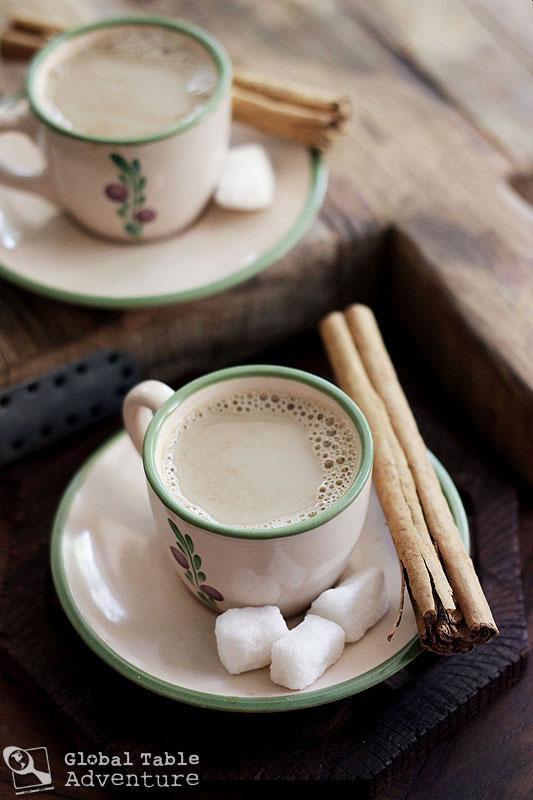 Pakistani Coffee with Cinnamon & Cardamom | Global Table Adventure