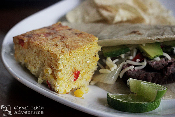 Paraguayan Cheesy Cornbread | Sopa Paraguaya | Global Table Adventure