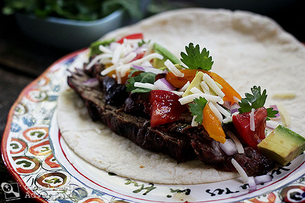 Barbecued Meat | Carne Asada Recipe | Food from Paraguay