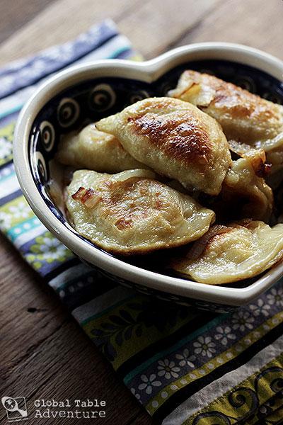 Cheese & Potato Pierogi | Global Table Adventure