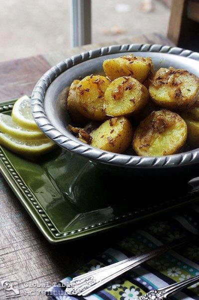 Cumin Seed Potatoes | Batata b'kamun | Global Table Adventure