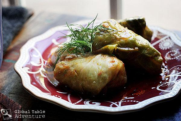 Romanian Stuffed Cabbage Leaves | Sarmale | Global Table Adventure