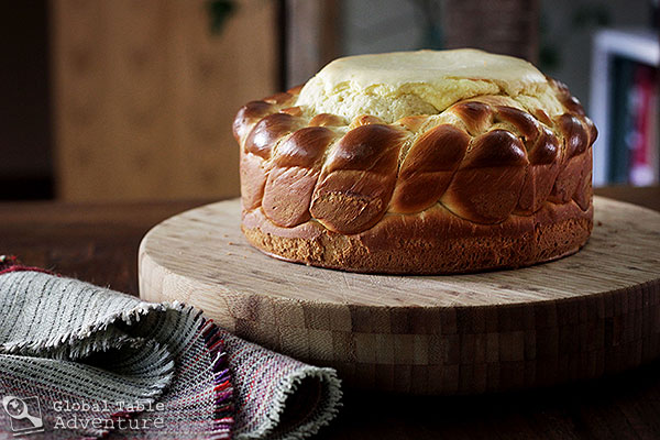 Romanian Easter Bread Pasca Global Table Adventure