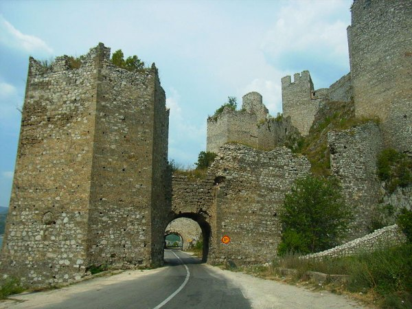 Golubac Fortress, by Angelo Mastrogiacomo.