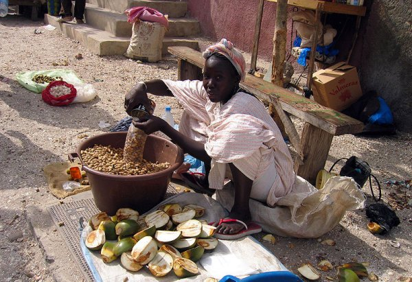 Peanuts in Senegal. Photo by Manuele Zunelli.