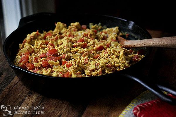 Spiced skillet eggs yemeni shakshouka global table for Cuisine yemenite