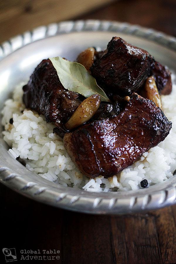Filipino Braised Pork Adobo | Global Table Adventure