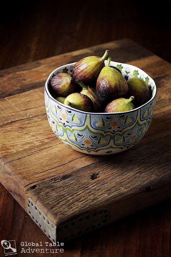 Fresh Brown Figs