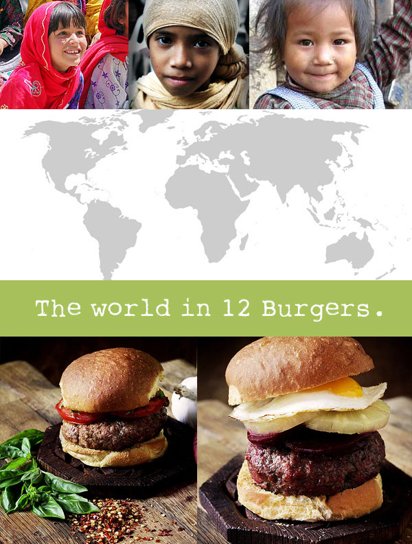 The World in 12 Burgers: Asian Edition!