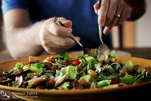 A recipe for Fattoush